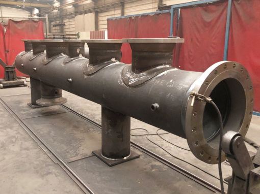 Fabrication d'un barillet vapeur
