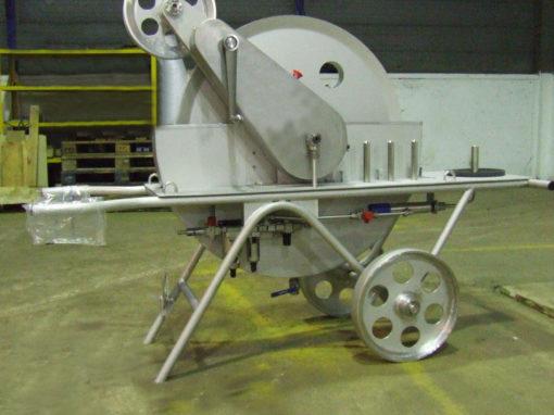Fabrication d'un équipement d'inspection de four
