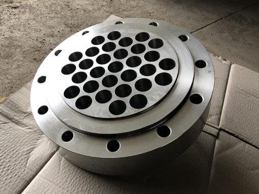 Réalisation de plaques tubulaires d'échangeur thermique