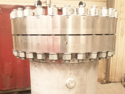 Fabrication d'un réservoir sous pression