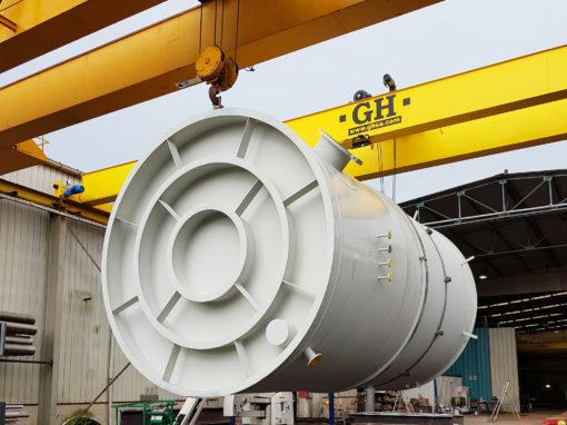 Fabrication et livraison de réservoirs de stockage