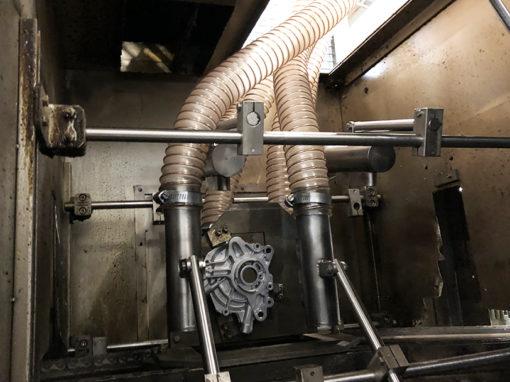 Modification et remise en état d'un sécheur sur une ligne de grande productivité de pièces automobiles