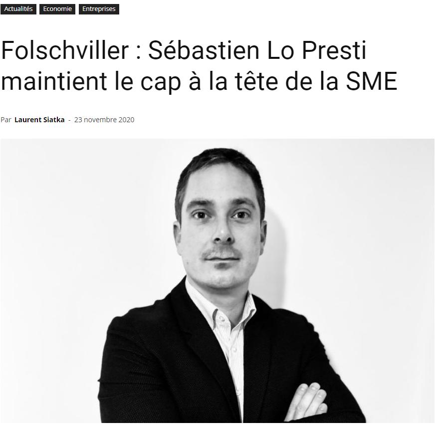 Sébastien Lo Presti maintient le cap à la tête de la SME